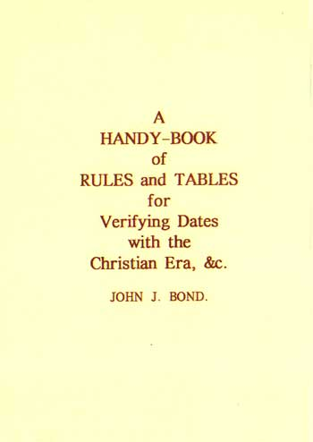 A Handy Book Of Rules And Tables