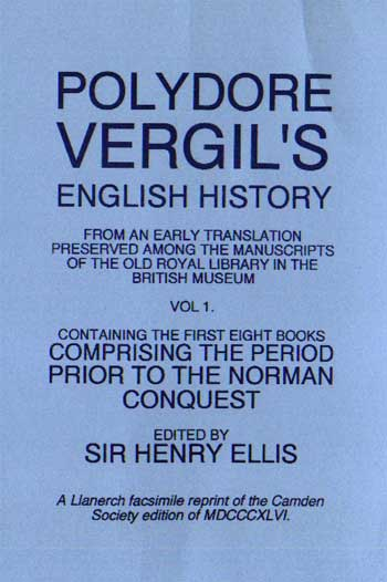 Polydore Vergil's English History Volume 1