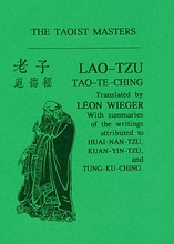Tao-Te-Ching of Lao-Tzu
