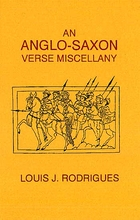 An Anglo-Saxon Verse Miscellany