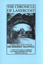 The Chronicle Of Lanercost, 2 Volumes