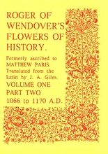 Roger of Wendover's Flowers of History Volume 1: Part 2: 106